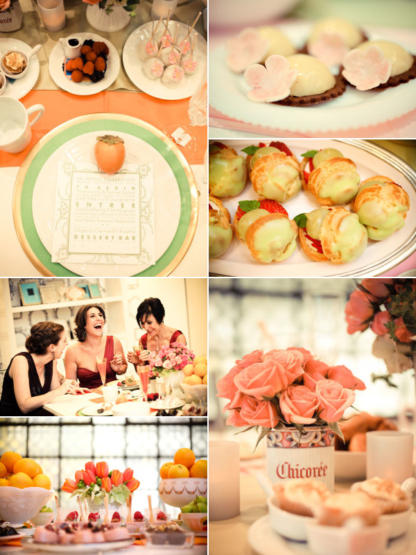 french sweets bridal shower