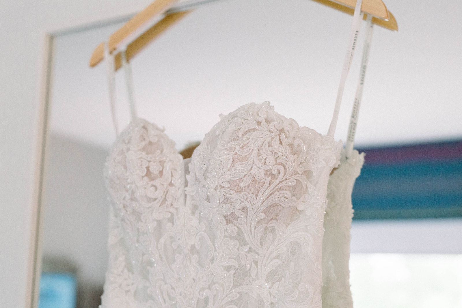 Lace Wedding Dress with Sweetheart Neckline featured on JPC Event Group