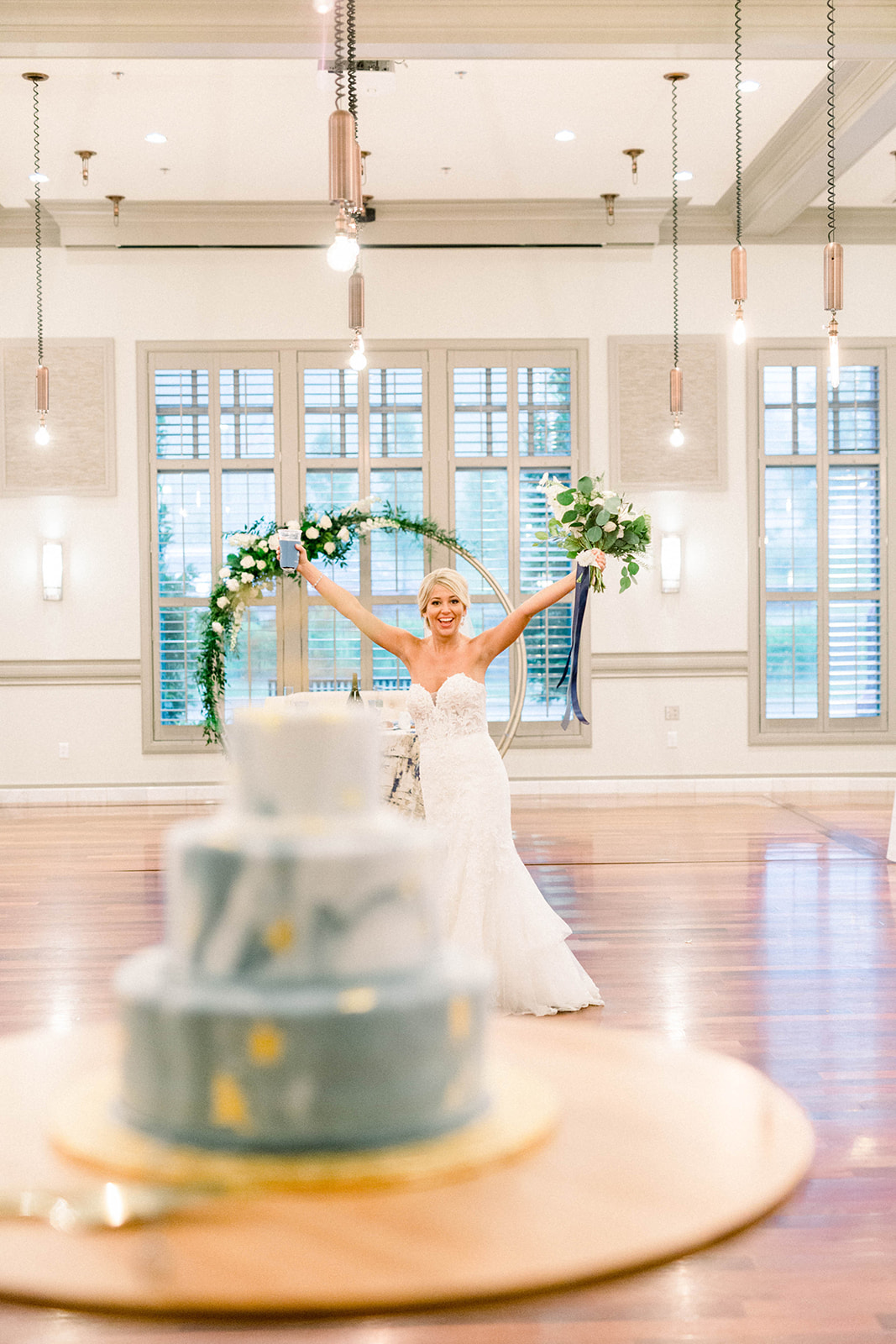 Timeless Blue Wedding planned by JPC Event Group
